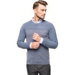 Sweter ciliant półgolf niebieski. Niebieskie swetry klasyczne męskie Recman, m, z golfem. Za 189,00 zł.
