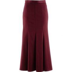 Spódnica bonprix czerwony klonowy. Czerwone spódniczki bonprix, dopasowane. Za 129,99 zł.