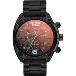 Zegarek DIESEL - Overflow DZ4316 Black/Black. Czarne zegarki męskie Diesel. Za 1059,00 zł.