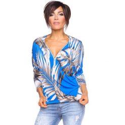 """T-shirty damskie: Koszulka """"Diane"""" w kolorze niebieskim"""