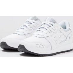 Asics Tiger GELLYTE III Tenisówki i Trampki white. Białe tenisówki damskie Asics Tiger, z materiału. W wyprzedaży za 407,20 zł.