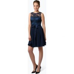 Sukienki: Swing – Damska sukienka wieczorowa, niebieski