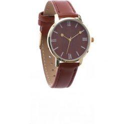 Brązowy Zegarek Adventurous. Brązowe zegarki damskie Born2be. Za 24,99 zł.