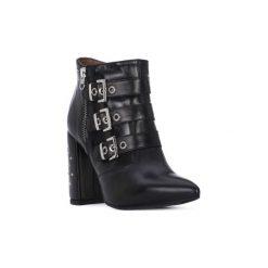 Kozaki Nero Giardini  NERO GIARDINI  NAPPA PANDORA. Czarne buty zimowe damskie marki Nero Giardini. Za 769,63 zł.