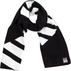 Szal EA7 EMPORIO ARMANI - 275810 8A304 00020 Black. Czarne szaliki damskie EA7 Emporio Armani, z materiału. Za 359,00 zł.