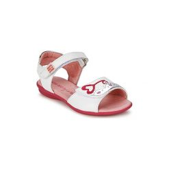 Sandały Dziecko  Agatha Ruiz de la Prada  SOFT. Czerwone sandały dziewczęce marki Born2be, z materiału, z otwartym noskiem, na zamek. Za 231,20 zł.