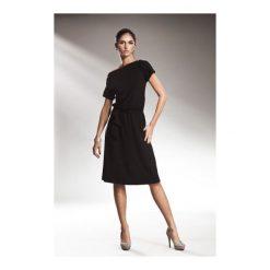 Sukienka Finney s13 Czarna. Białe sukienki na komunię marki NIFE, eleganckie. Za 122,90 zł.