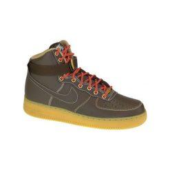 Buty sportowe męskie: Nike Buty męskie Air Force 1 High brązowe r. 40.5 (315121-203)