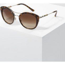 Burberry Okulary przeciwsłoneczne havana. Brązowe okulary przeciwsłoneczne damskie aviatory Burberry. Za 809,00 zł.
