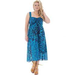Odzież damska: Sukienka w kolorze niebiesko-turkusowym