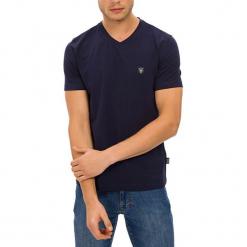 T-shirt w kolorze ciemnoniebieskim. Niebieskie t-shirty męskie GALVANNI, m. W wyprzedaży za 84,95 zł.