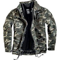 Black Premium by EMP Army Field Jacket Kurtka kamuflaż. Czarne kurtki męskie marki Black Premium by EMP. Za 341,90 zł.