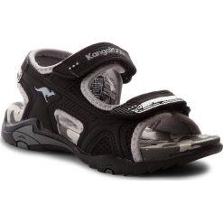 Buty dziecięce: Sandały KANGAROOS – Sinclair II 16023 000 5007 Jet Black/Vapor Grey
