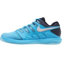Nike Performance AIR ZOOM VAPOR X CLAY Obuwie do tenisa Outdoor light blue fury/multicolor. Niebieskie buty do tenisu damskie Nike Performance, z materiału. W wyprzedaży za 471,20 zł.