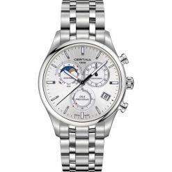 PROMOCJA ZEGAREK CERTINA DS 8 Chrono Moon Phase C033.450.11.031.00. Szare, cyfrowe zegarki męskie marki CERTINA, ze stali. W wyprzedaży za 2851,20 zł.