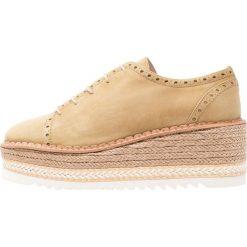 Élysèss Sznurowane obuwie sportowe khaki. Brązowe buty sportowe damskie Élysèss, z materiału. W wyprzedaży za 382,85 zł.