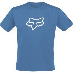 T-shirty męskie z nadrukiem: Fox Legacy Fox Head SS Premium Tee T-Shirt niebieski