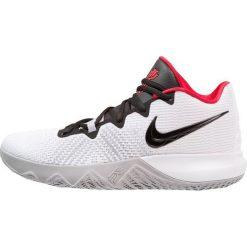 Nike Performance KYRIE FLYTRAP Obuwie do koszykówki white/metallic silver/wolf grey. Białe buty sportowe męskie Nike Performance, z materiału. Za 379,00 zł.