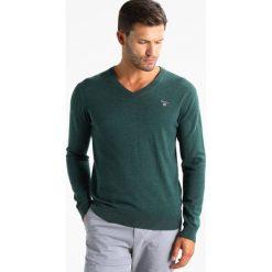 Swetry klasyczne męskie: GANT Sweter tartan green