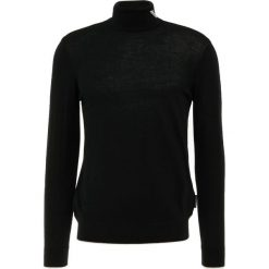 Emporio Armani Sweter nero. Szare swetry klasyczne męskie marki Emporio Armani, l, z bawełny, z kapturem. Za 669,00 zł.