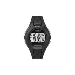 Pulsometr zegarek sportowy Timex Ironman® Traditional 10-Lap. Czarne zegarki męskie Timex, sztuczne. Za 189,99 zł.