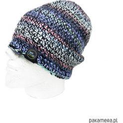 Czapka melanżowa z wełną TOUCHCOLOR. Szare czapki zimowe damskie Pakamera, z wełny. Za 109,00 zł.