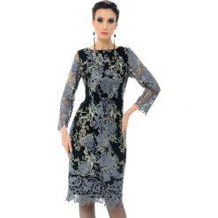 Sukienki balowe: Sukienka w kolorze czarno-szarym
