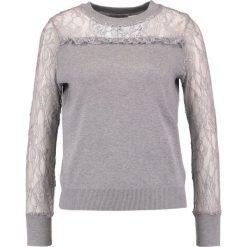 Swetry klasyczne damskie: Navy London ALLY Sweter grey