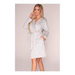 Szlafrok 562/Chanel melanż. Białe szlafroki damskie marki MAT. Za 149,90 zł.