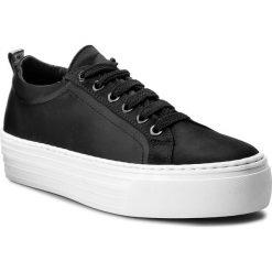 Sneakersy BRONX - 66045-AB BX 425 Black 01. Czarne sneakersy damskie marki Bronx, z materiału. W wyprzedaży za 189,00 zł.