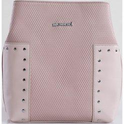 Monnari - Torebka. Szare torebki klasyczne damskie marki Monnari, w paski, z materiału, średnie. W wyprzedaży za 99,90 zł.