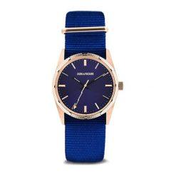 """Zegarki męskie: Zegarek """"ZVF208"""" w kolorze niebiesko-różowozłotym"""