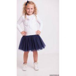 Sukienki dziewczęce: Sukienka tiulowa z falbanką – długi rękaw