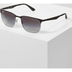 RayBan Okulary przeciwsłoneczne black. Szare okulary przeciwsłoneczne damskie lenonki marki Ray-Ban, z materiału. Za 659,00 zł.