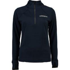 """Sweter """"Jasarde"""" w kolorze granatowym. Niebieskie swetry klasyczne damskie Geographical Norway, s, ze stójką. W wyprzedaży za 99,95 zł."""