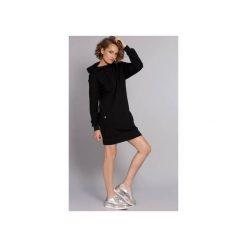 Bluzy damskie: Sukienko-bluza Hot Madgirl - czarna