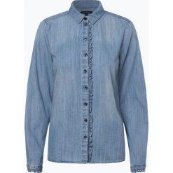 Marc O'Polo - Damska koszula jeansowa, niebieski. Niebieskie koszule jeansowe damskie Marc O'Polo, eleganckie, polo. Za 439,95 zł.