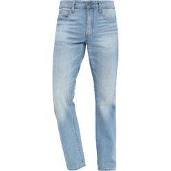 GStar 3301 STRAIGHT Jeansy Straight Leg sato denim light aged. Niebieskie jeansy męskie marki G-Star. Za 469,00 zł.