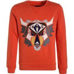 IKKS FULL WINT TRIBAL  Bluza orange moyen. Brązowe bluzy chłopięce marki IKKS, z bawełny. W wyprzedaży za 161,85 zł.