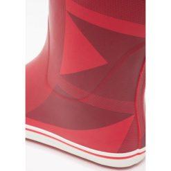 Aigle MALOUINE PRINT Kalosze rouge. Czerwone kalosze damskie Aigle, z materiału. Za 319,00 zł.