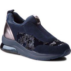 Sneakersy LIU JO - Karlie 07 B68007 TX005 Blue 09361. Niebieskie sneakersy damskie Liu Jo, z materiału. Za 689,00 zł.