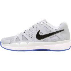 Buty sportowe damskie: Nike Performance NIKE AIR VAPOR ADVANTAGE CPT Obuwie do tenisa Indoor wolf grey/black pure platinum/mega blue