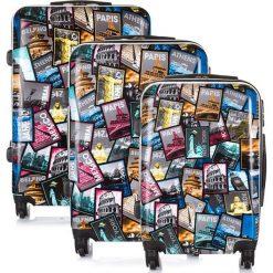 Walizki: Komplet 3 walizek podróżnych Wytrzymały