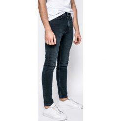 Levi's - Jeansy 510. Brązowe jeansy męskie skinny Levi's®, z aplikacjami, z bawełny. Za 299,90 zł.