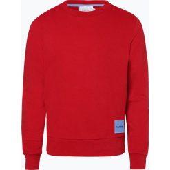 Calvin Klein - Męska bluza nierozpinana, czerwony. Pomarańczowe bluzy męskie rozpinane marki Calvin Klein, l, z bawełny, z okrągłym kołnierzem. Za 449,95 zł.