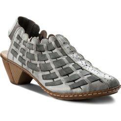 Rzymianki damskie: Sandały RIEKER – 46778-40 Grau