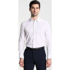 Koszule męskie na spinki: Sisley SLIM FIT Koszula biznesowa white