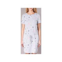 Sukienki krótkie Bench  BLWS001962. Szare sukienki mini Bench, l, z krótkim rękawem. Za 216,30 zł.
