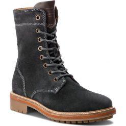 Trapery GANT - Natalie 17543926  Black/Grey G006. Szare buty zimowe damskie marki GANT, ze skóry. Za 739,90 zł.