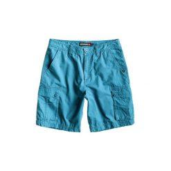 Szorty i Bermudy  Quiksilver  Bass Cargo AQYWS00092-BPC0. Niebieskie bermudy męskie marki Quiksilver, l, narciarskie. Za 159,20 zł.